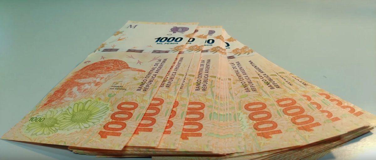 Durante enero creció la cantidad de pesos en poder del público y la financiación con tarjeta de crédito