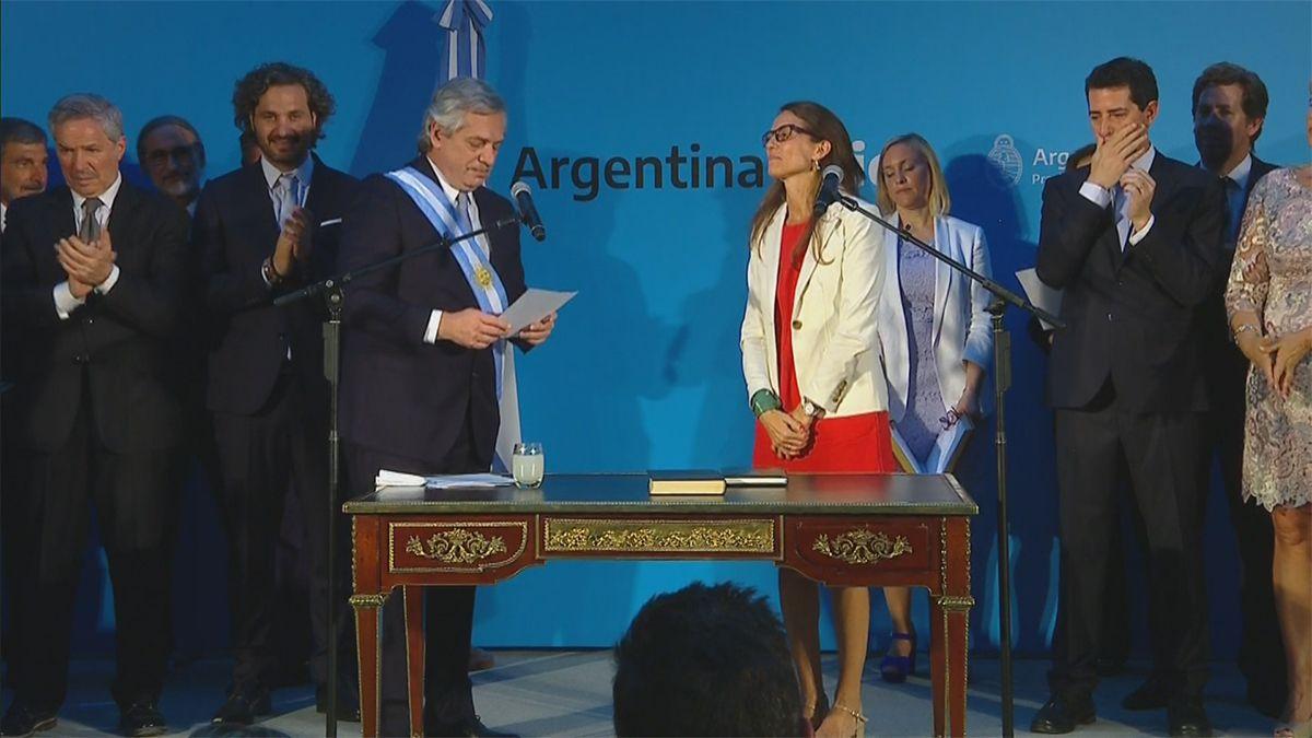 Jura de la abogada Elizabeth Gómez Alcorta (Ministerio de la Mujer