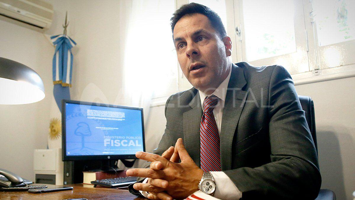 Gustavo Onel, el fiscal federal está que está a cargo de la investigación.