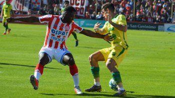 Yeimar Gómez se aleja cada vez más de Unión