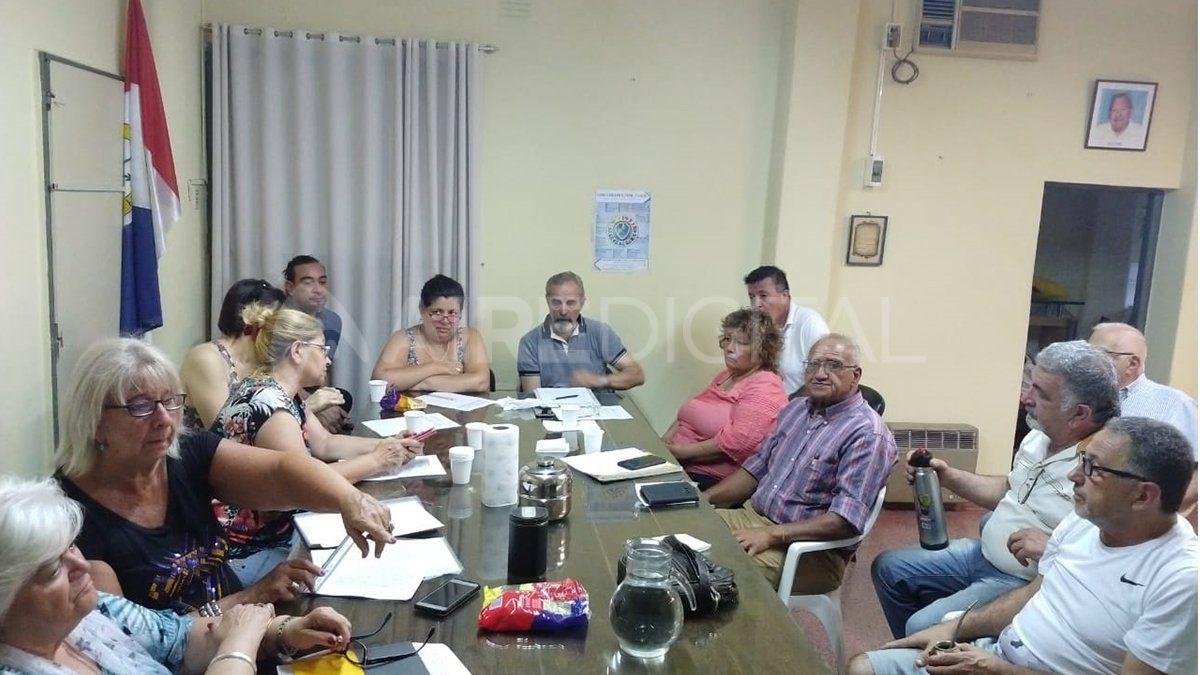 Reunión de vecinalistas