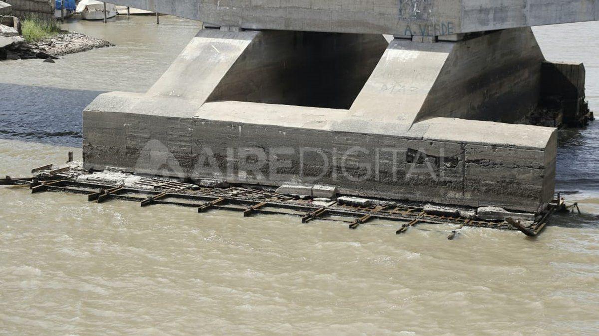 Erosión en el Viaducto Oroño: aseguran que los daños son superficiales