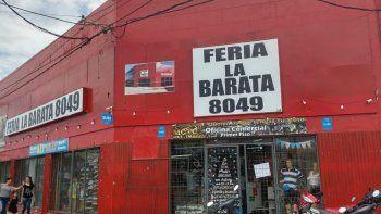 Robaron una cuantiosa suma de dinero y mercadería en la feria La Barata