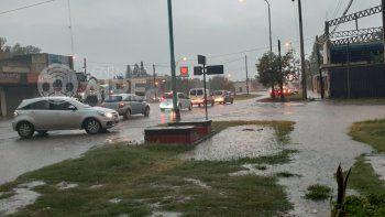 Las postales de la fuerte tormenta en Santa Fe