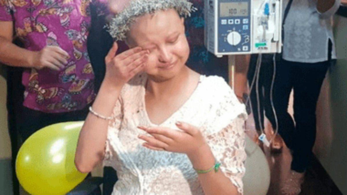 Tiene leucemia, cumplió 15 años y Paulo Londra la sorprendió con un saludo