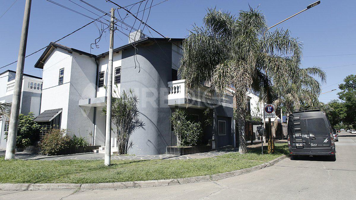 Echagüe al 6900. La vivienda fue alquilada el 5 de agosto pasada por el plazo de un año.