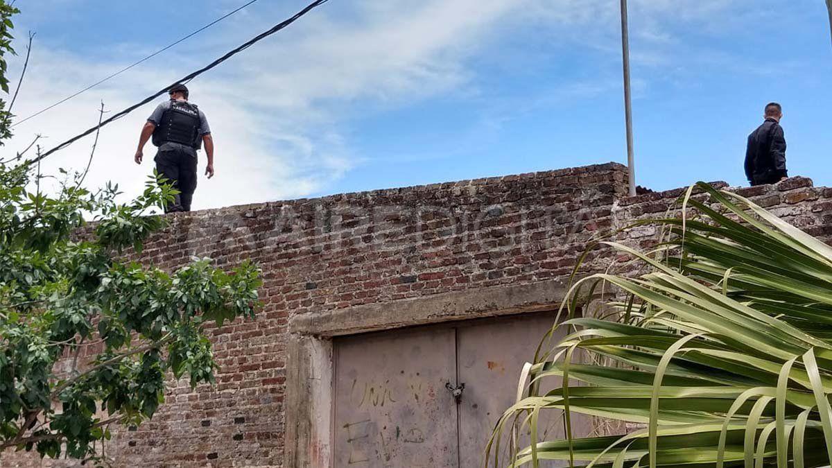 La policía busca a los ladrones