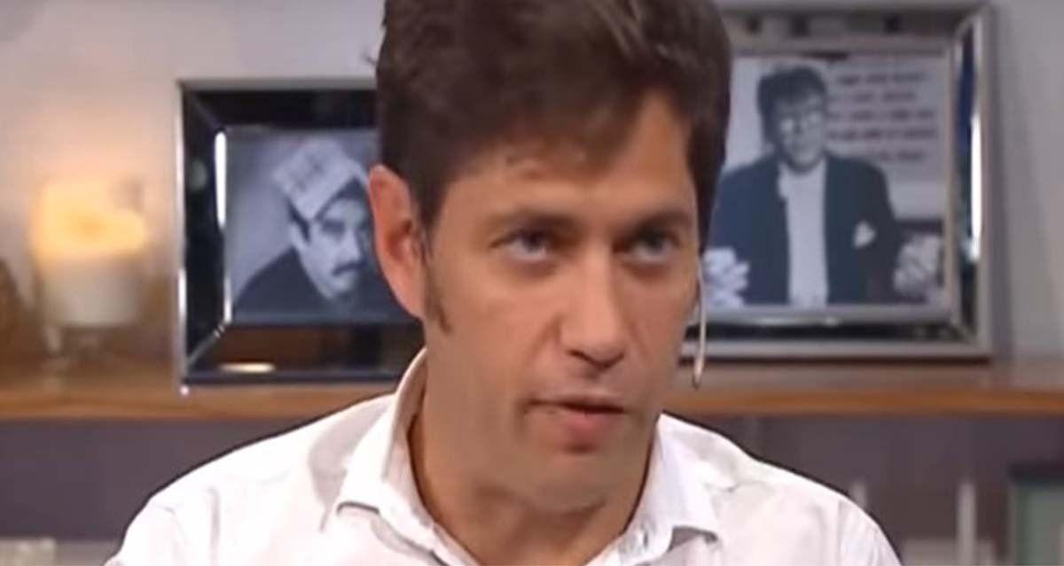 Axel Kicillof en América