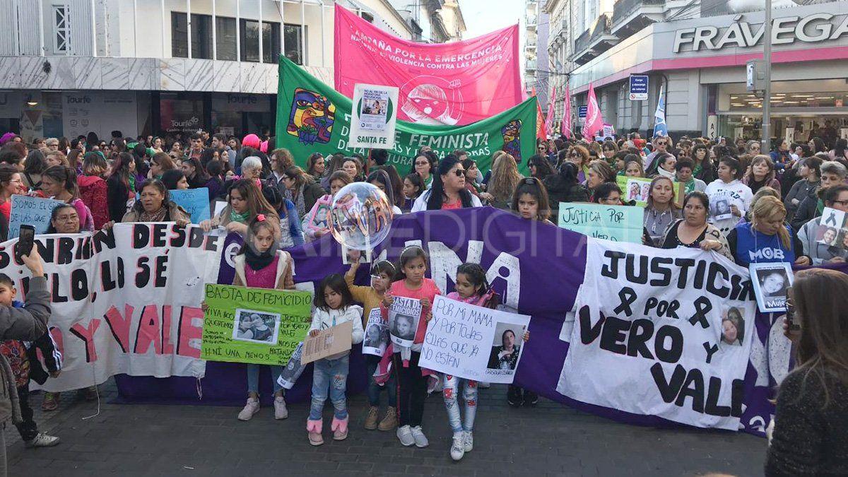 Marcha Ni Una Menos del 3 de junio en Santa Fe