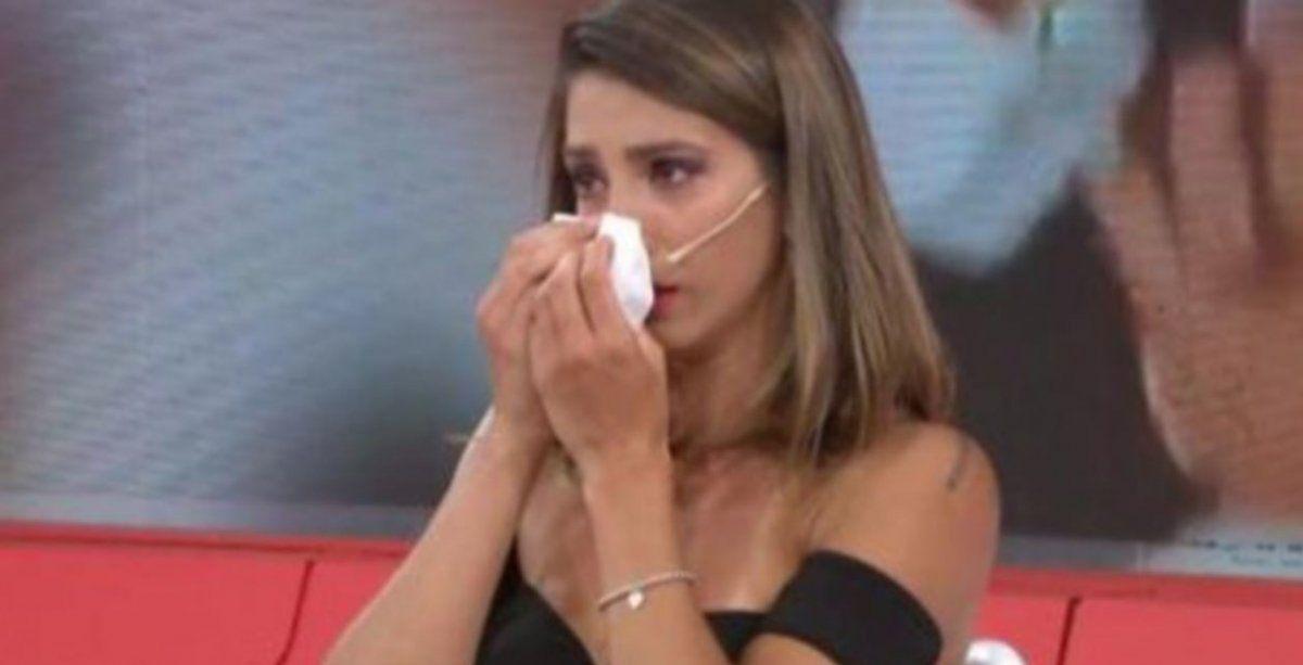 Cinthia Fernández abandonó la grabación de Pasapalabra con un ataque de llanto: ¿qué le pasó?