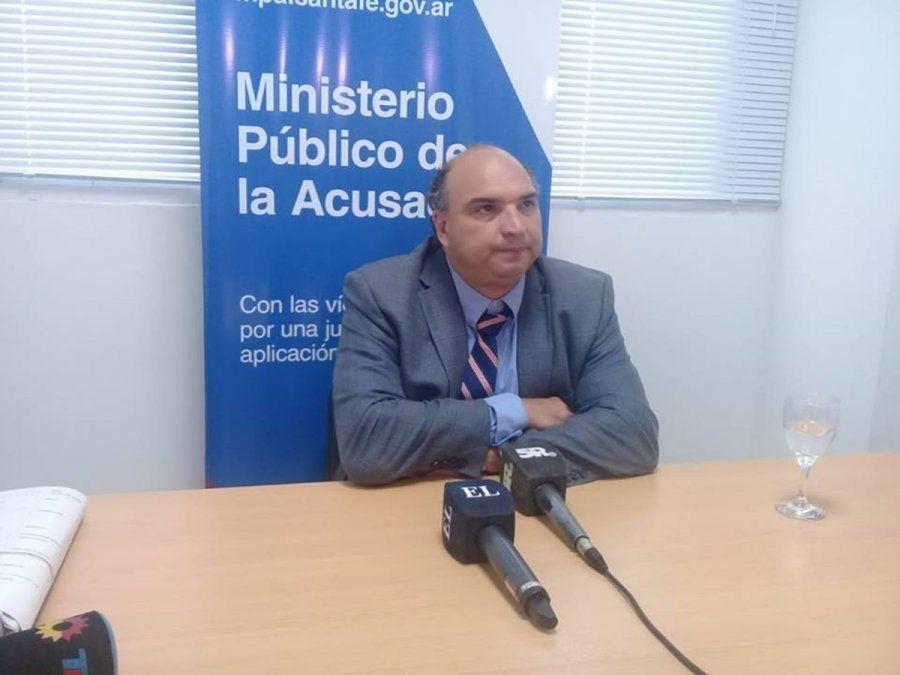 Roberto Apullán, el primer fiscal que tuvo la causa