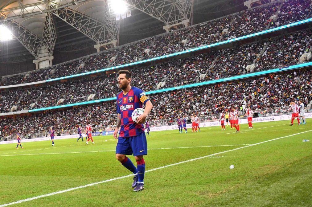 Messi: Compartir la liga de España con Cristiano fue especial