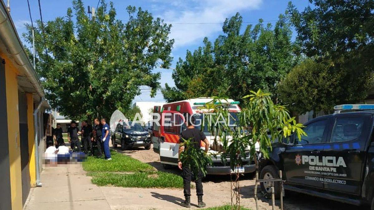 Se reveló que la mujer policía de San Javier le disparó a su pareja desde adentro de su casa