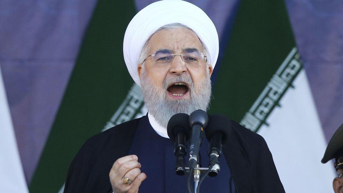 Rohani firmó la ley que declara como terroristas a las fuerzas armadas estadounidenses y al Pentágono.