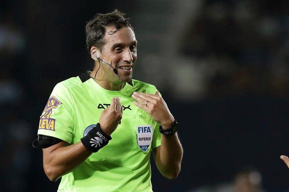 Fernando Rapallini será el árbitro para Independiente y River