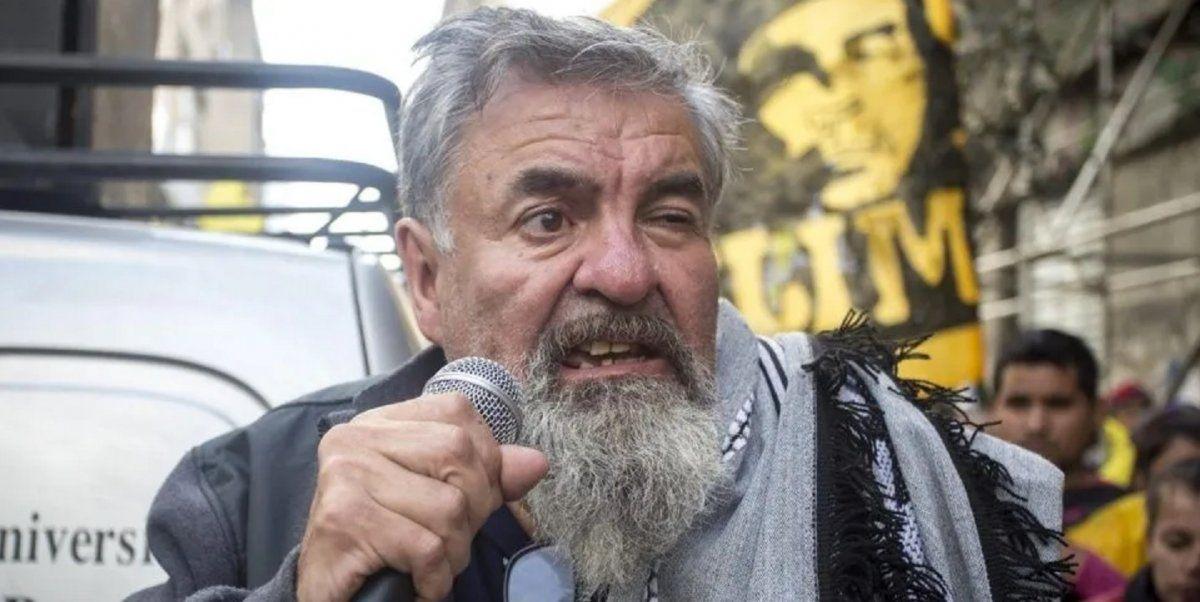 El piquetero Raúl Castells tildó de tar*** y prostituta a Susana Giménez