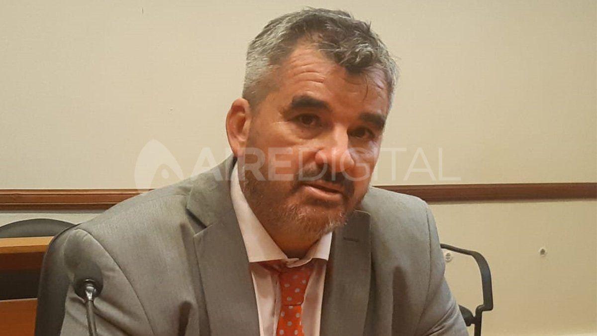 El fiscal se refirió a la causa desde el móvil en tribunales