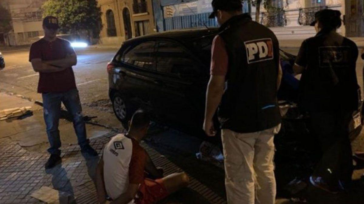 Maximiliano Cachete Díaz fue detenido en un departamento de Mitre y Pellegrini