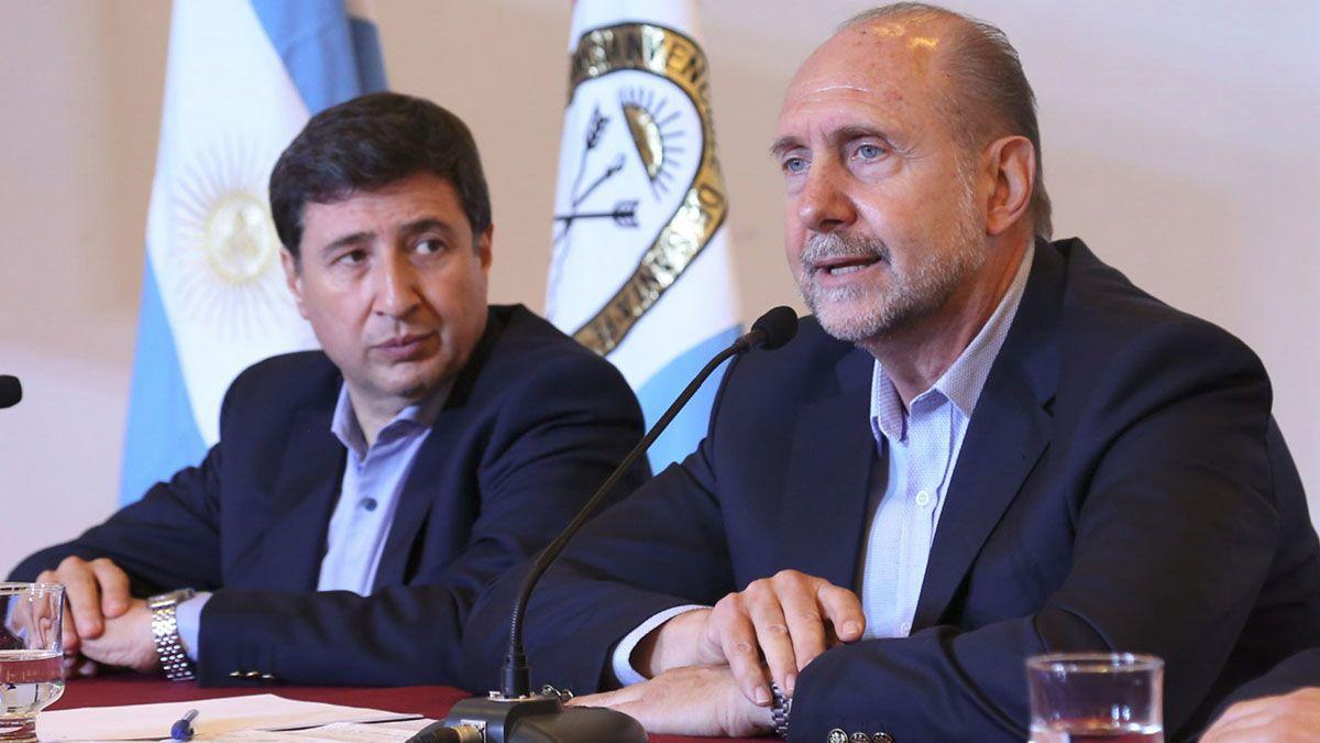 Del acto de firma de convenio participó el gobernador Perotti junto al ministro de Desarrollo Social de la Nación