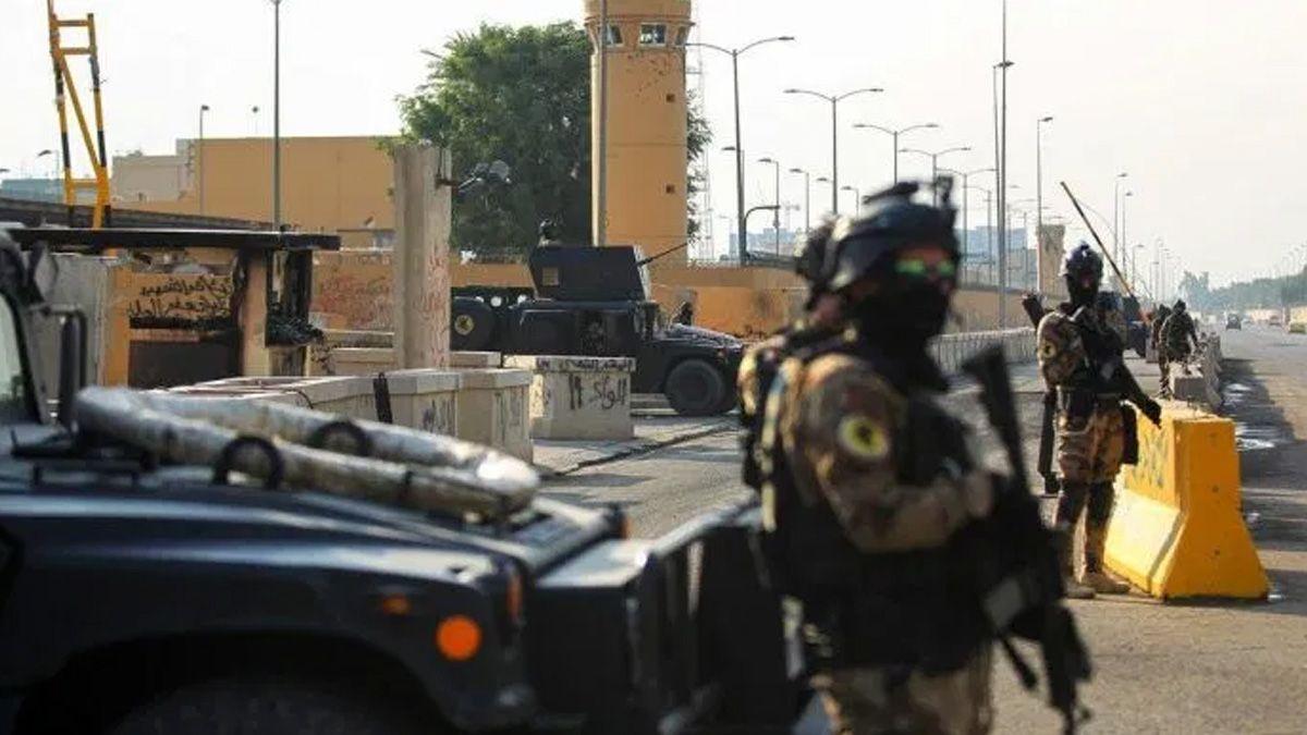 Nuevo ataque de Irán con misiles a una base iraquí con soldados norteamericanos