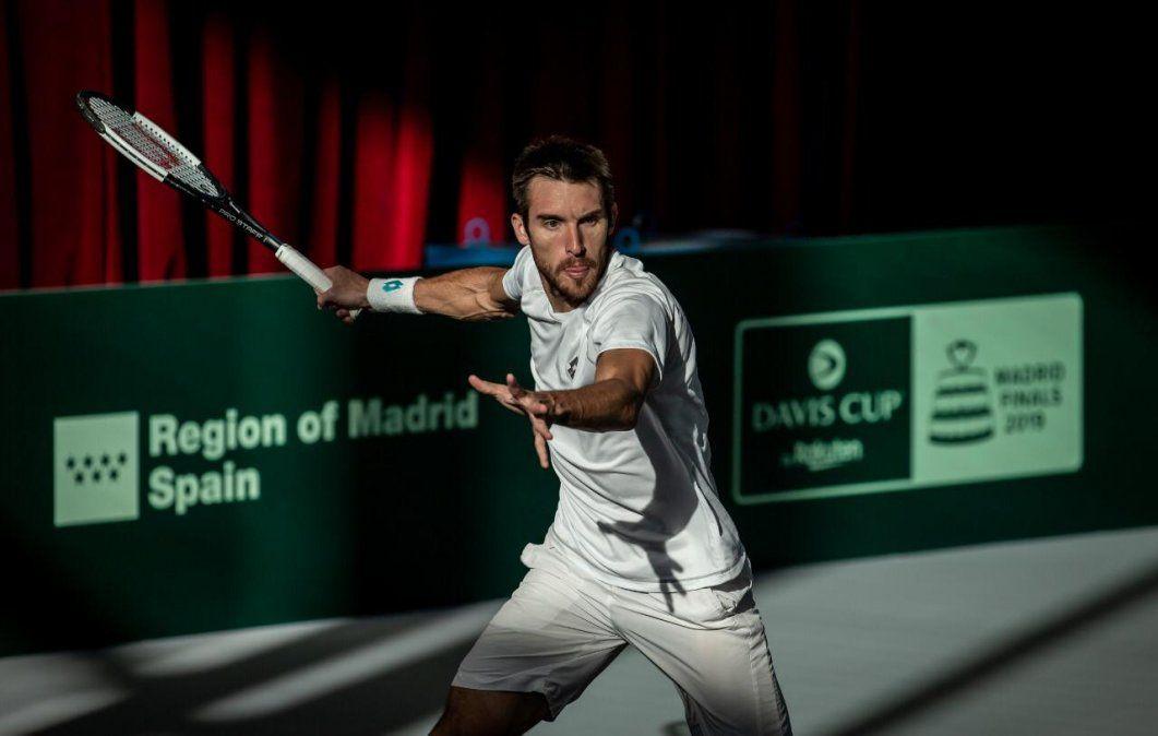 Leo Mayer quedó eliminado de ATP de Auckland por el italiano Cecchinato