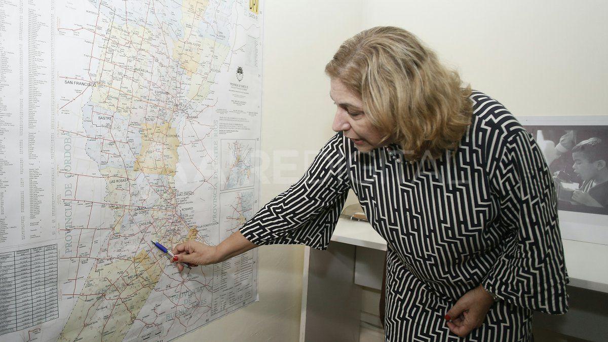 La ministra de Salud explicó que es muy importante controlar el límite provincial con Buenos Aires y Chaco.