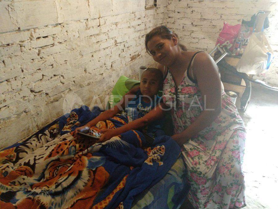 Le dieron el alta a Isaías, el niño de 10 años atropellado por un colectivo de la línea 2 en diciembre