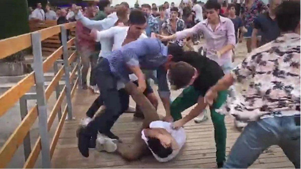 Video: batalla campal en un boliche de Mar del Plata