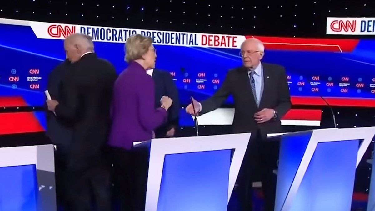 Sanders y Warren son viejos conocidos del Senado