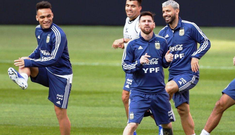 Lautaro Martínez: Ojalá pueda hacer algo de lo que hicieron Messi y Agüero