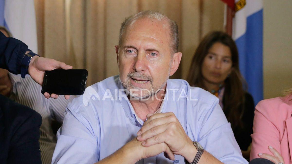 Perotti se reúne en Casa Rosada con Alberto Fernández y la ministra de Seguridad