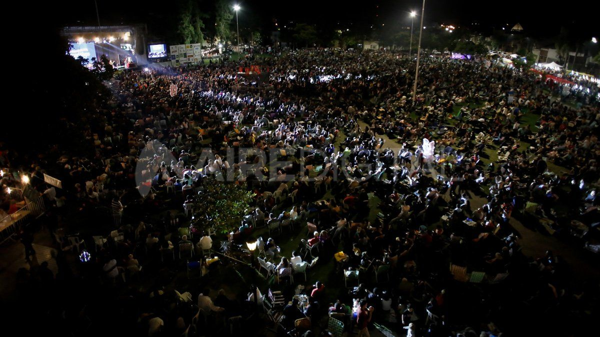 Guadalupe 2020, un festival familiar y atravesado por la solidaridad de la gente
