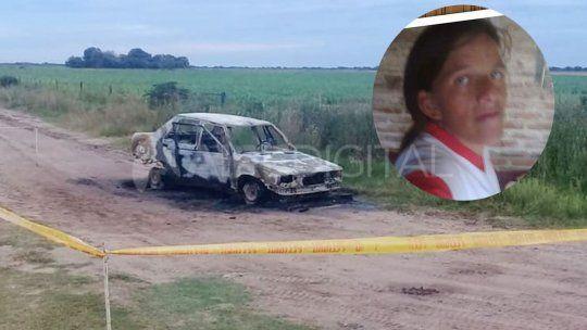 La familia de la mujer incinerada en un auto asegura que sufría violencia de género