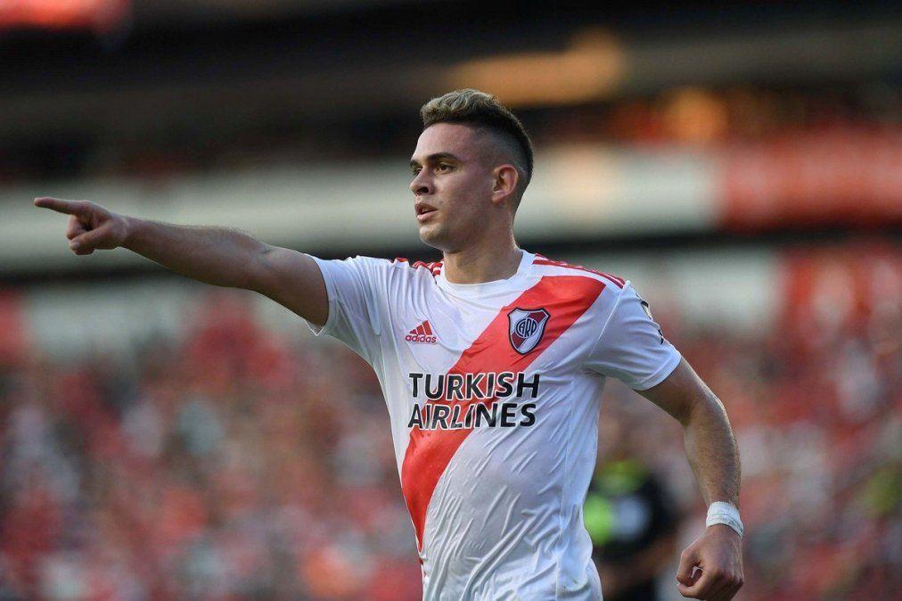 River venció a Independiente en Avellaneda y alcanzó la punta de la Superliga