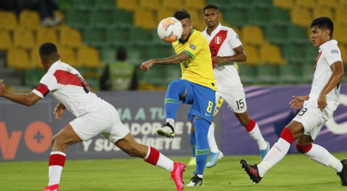 Brasil venció a Perú en el Preolímpico Sudamericano que se disputa en Colombia
