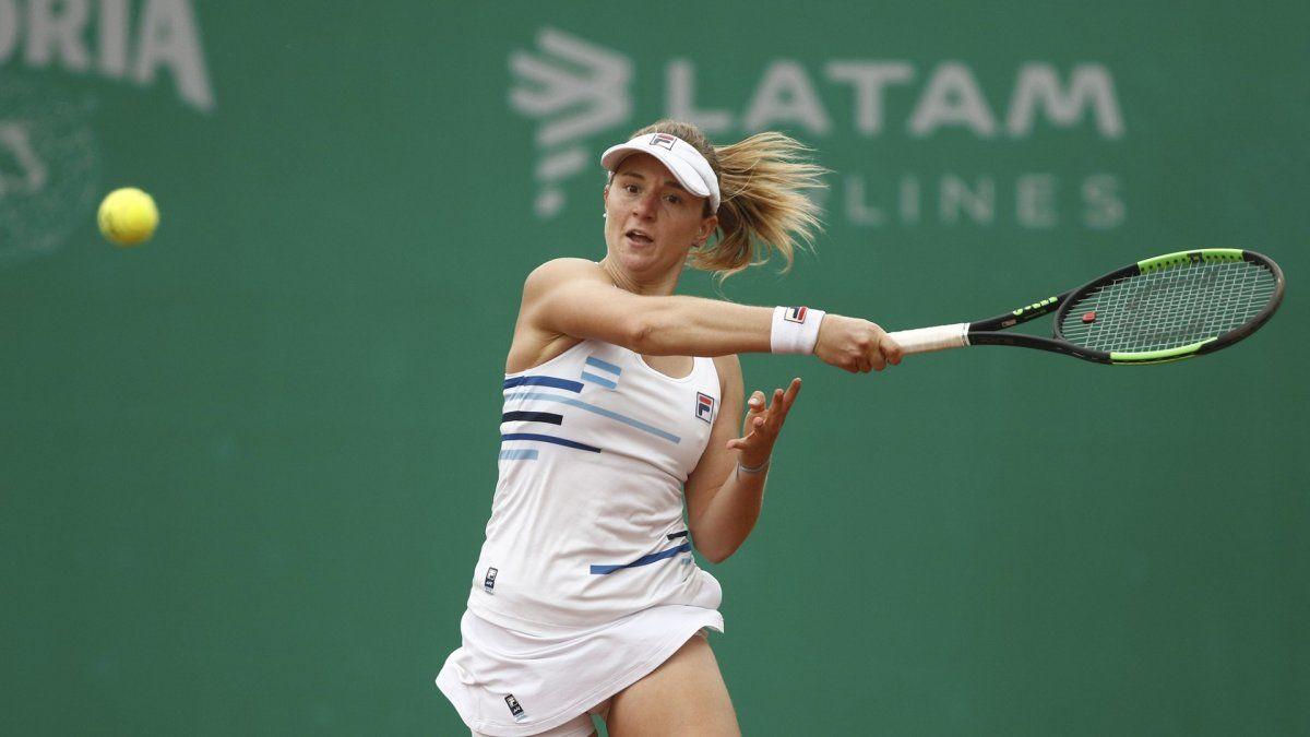 La tenista argentina Nadia Podoroska se clasificó campeona en certamen en California