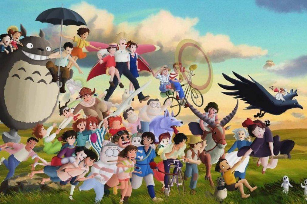 Las películas animadas del Studio Ghibli llegan a Netflix