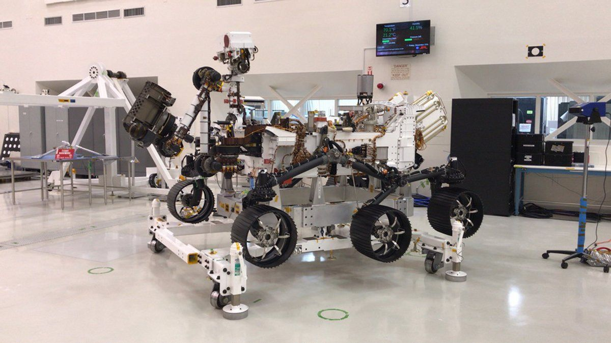 La Nasa abrió una votación: ¿qué nombre le pondrías al rover que viajará a Marte este año?