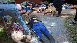 Comenzó la rueda de reconocimiento de los rugbiers que asesinaron a Fernando Báez Sosa en Villa Gesell.