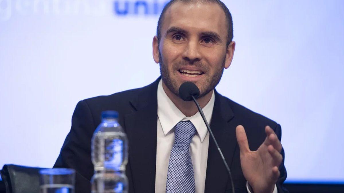 El ministro de Economía de la Nación