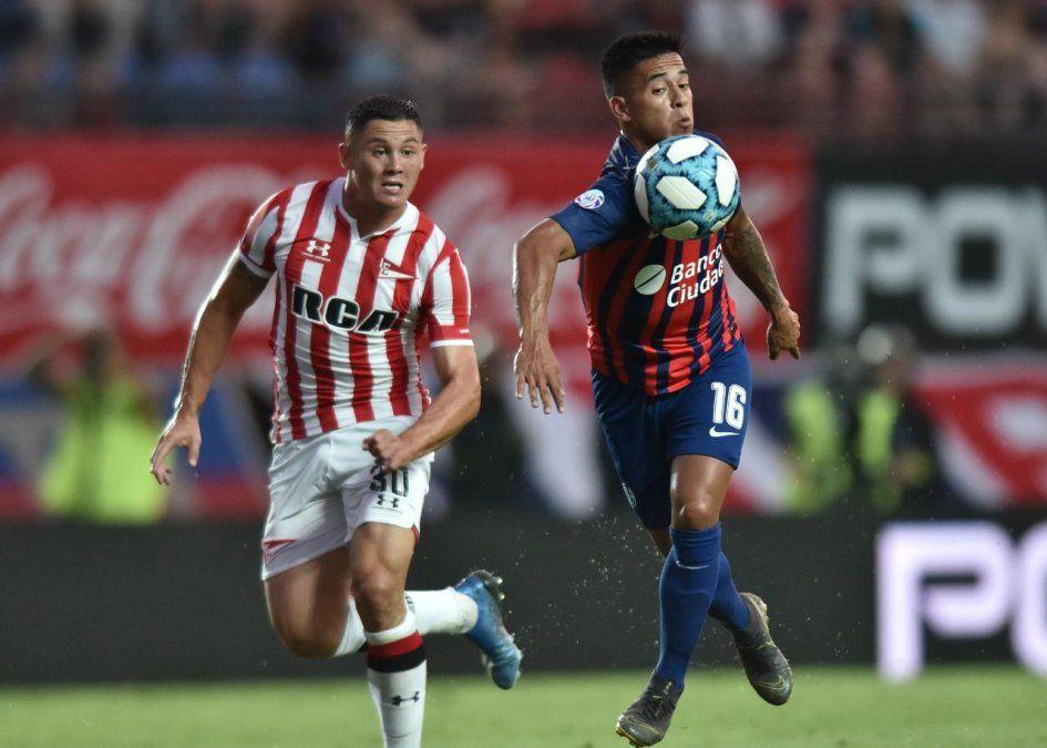 San Lorenzo y Estudiantes (LP) igualaron en el retorno de Javier Mascherano al fútbol argentino