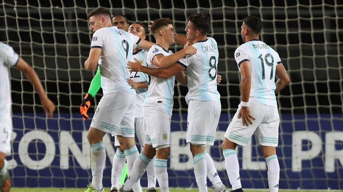 Argentina se enfrenta a Ecuador en el Preolímpico