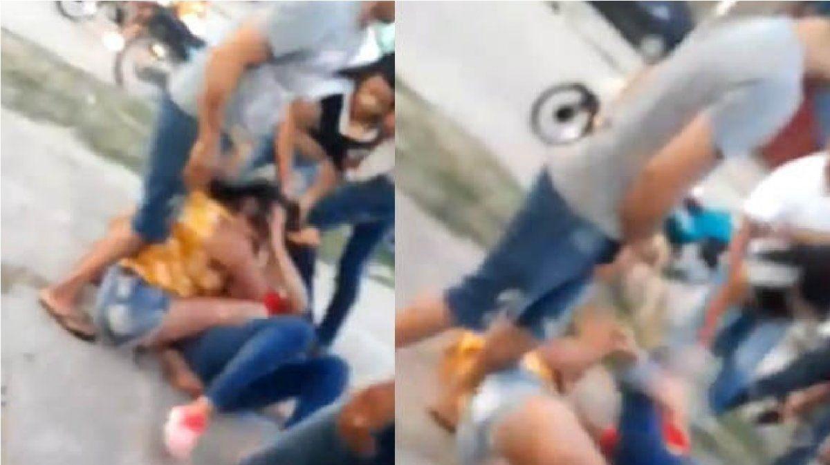 Otra brutal agresión a la salida de un boliche: cuatro jóvenes atacaron y desfiguraron a una chica