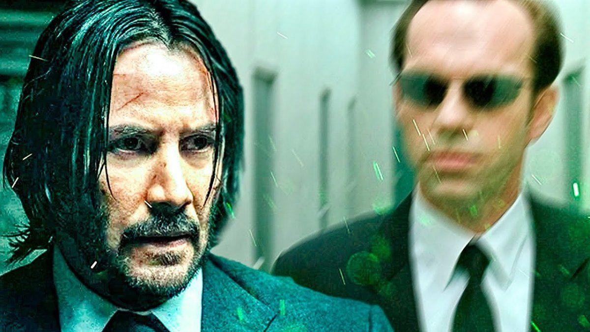 Matrix 4: se filtran imágenes de Keanu Reeves en pleno rodaje