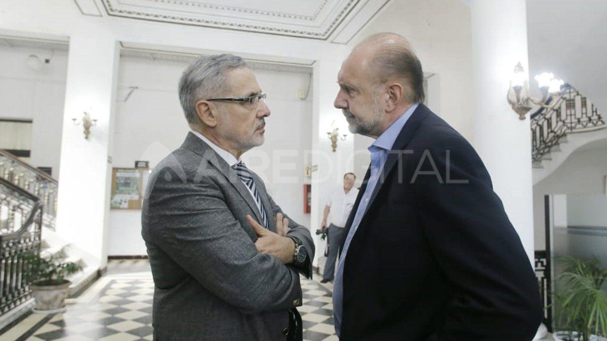 La paz y el orden pregonados no serán fáciles de lograr. Perotti confió esta responsabilidad en el ministro de Seguridad, Marcelo Sain.