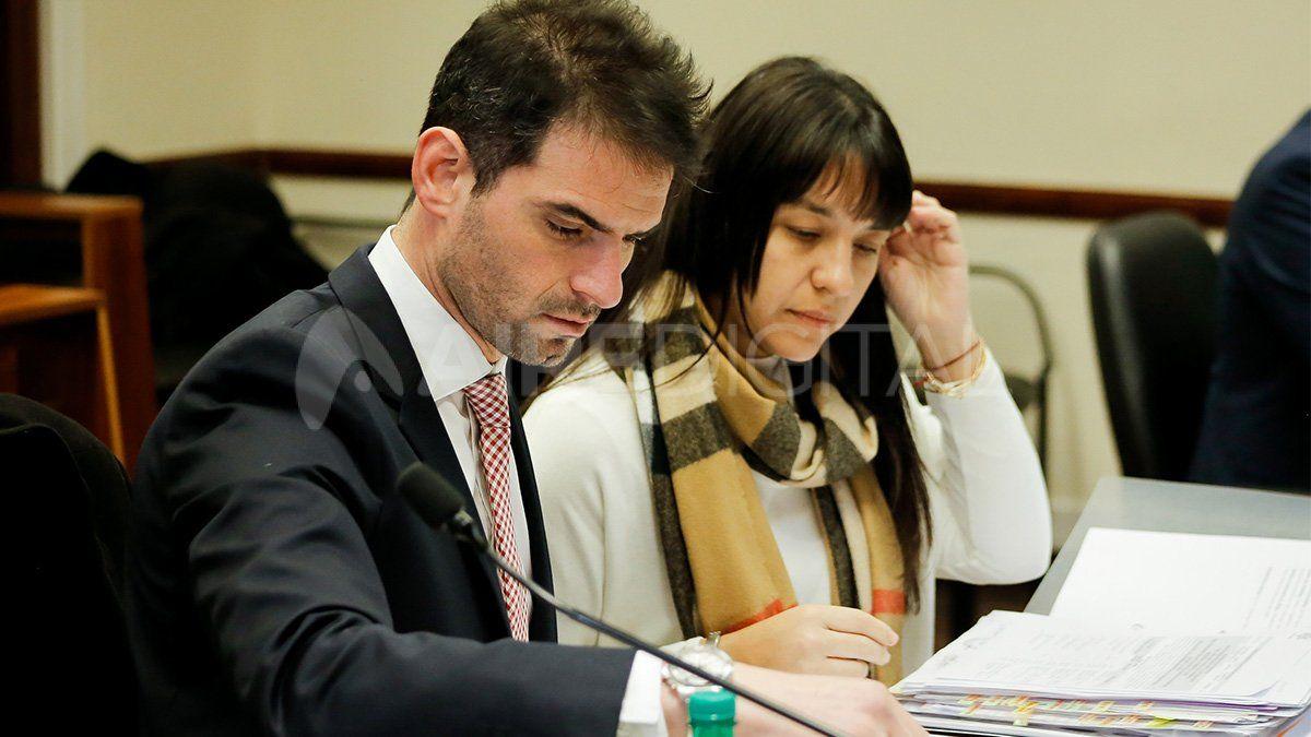 Federico Grimberg y Alejandra Del Río Ayala