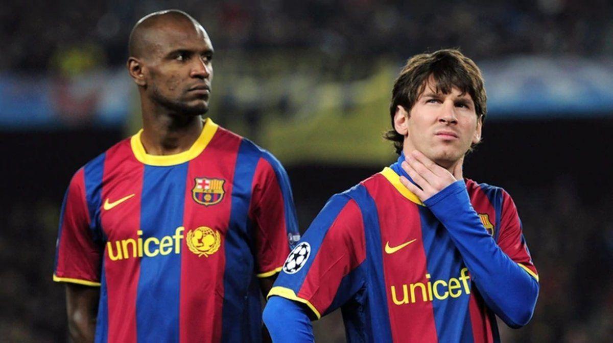 Messi se enojó con Abidal por una polémica declaración