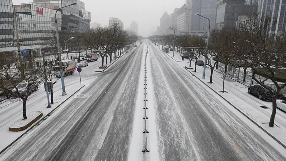 El temor al coronavirus convirtió a Beijing en una ciudad desierta.