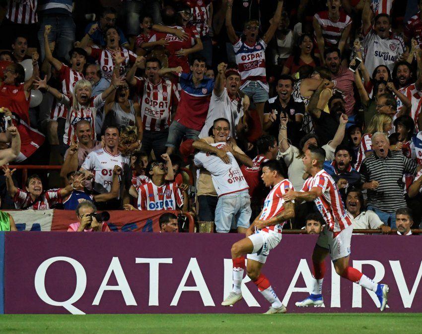 La gran marca que estableció el triunfo de Unión ante Atlético Mineiro