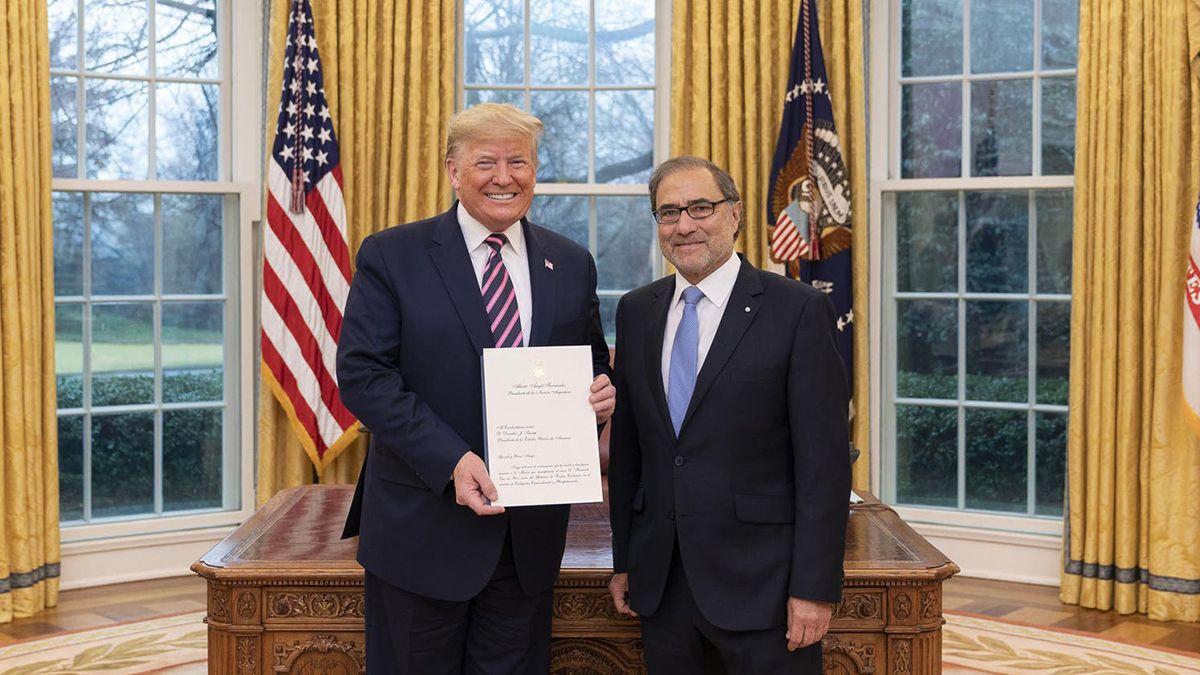 El designado embajador enEstados Unidos